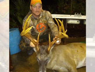 Jeffrey Stallings made the most of a lottery hunt at Tensas National Wildlife Refuge early last month, when he downed this big 13-pointer that stretched the tape to 176 inches.