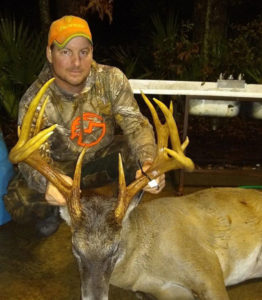 Jeffrey Stallings shot this big 13-point on Tensas National Wildlife Refuge on Dec. 8. The big buck green-scored 176 inches of bone.