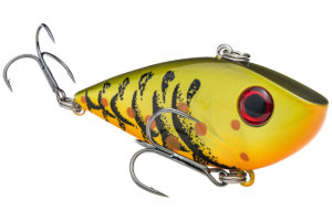 Rapid fire casts with a lipless crankbait will appeal to hungry prespawners.