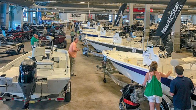 Find all the newest boats at special prices during the 2019 Louisiana Sportsman Boat Show March 14-17 at the Lamar-Dixon Expo Center in Gonzales.