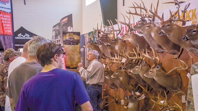 The Big Buck Contest is a hallmark of the Louisiana Sportsman Show, and will be held this year March 15-17 in Gonzales.