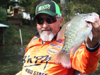 Being a tree thumper pays big dividends, like these slab crappie.