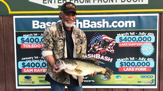 Photo courtesy of Toledo Bend Lunker Bass Program