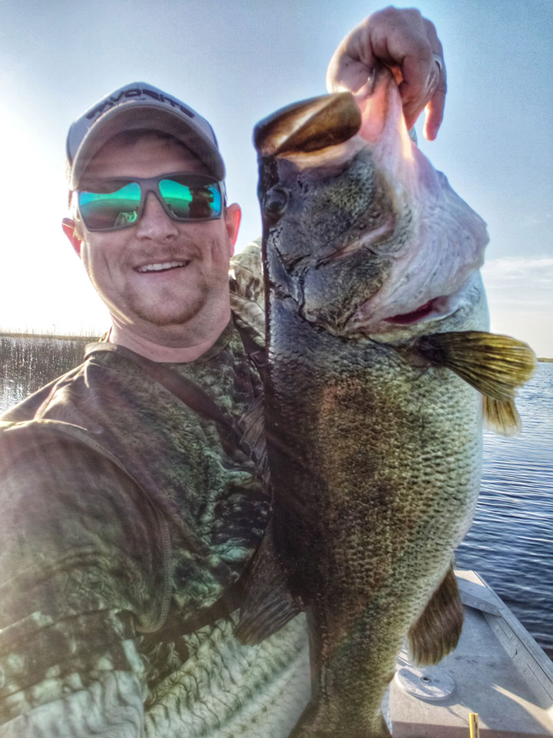 Aaron Granger of Lacassine caught this 11.5-pound bass in Lacassine Refuge on May 14.
