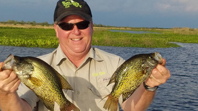 Canals around Lake Des Allemands and Bayou Gauche produce nice crappie in May and June.