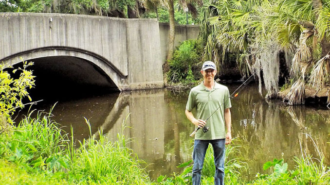 Whenever Danny Malone of Mandeville goes fishing in the Park, he's been catching a lot of cichlids.