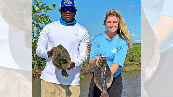 Flounder should be in the marshes around Lake Charles through June.