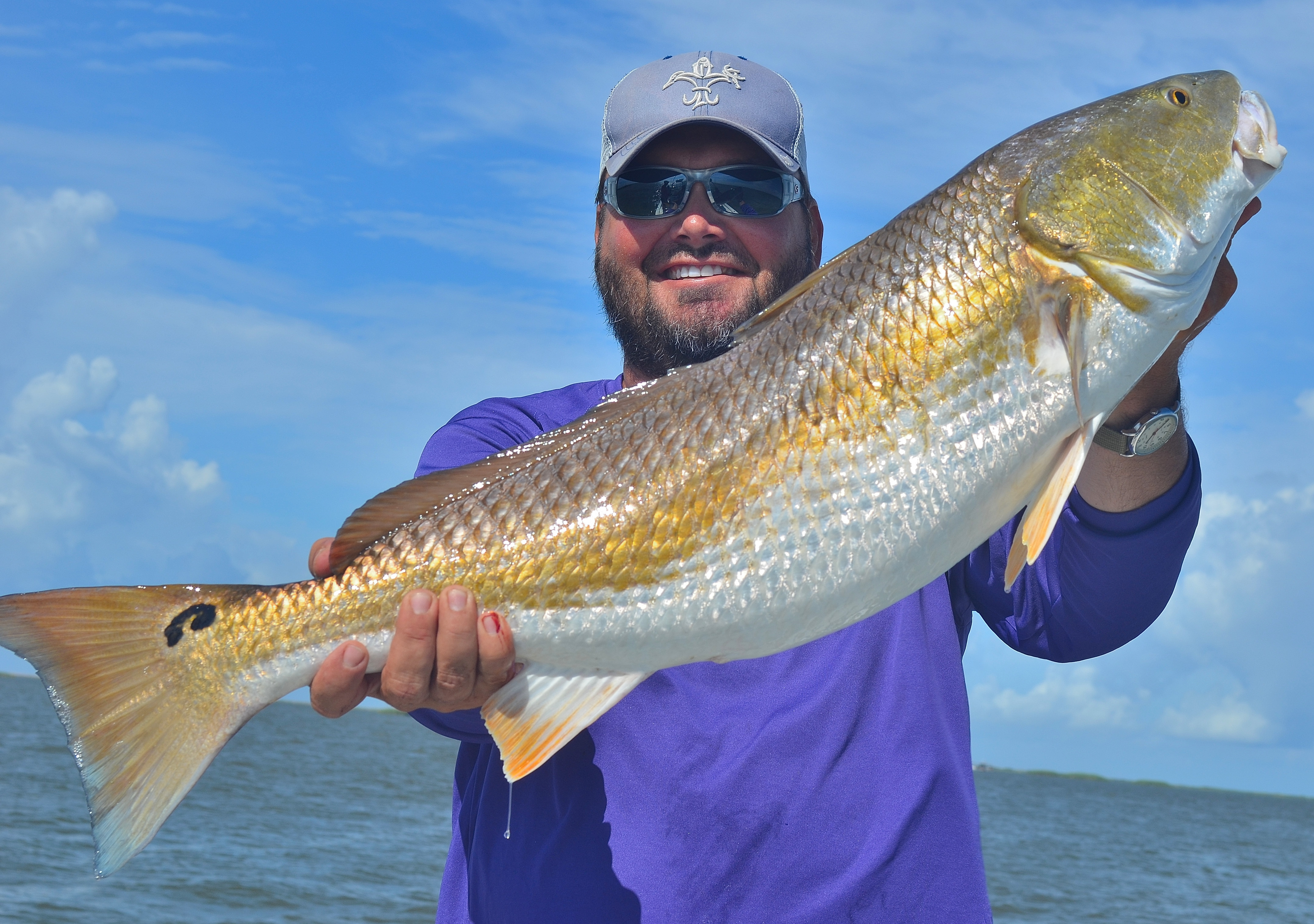 As often as he can, Major League Fishing professional angler Greg Hackney of Gonzales will make late summer runs to the coast to engage in some summer bullfights.