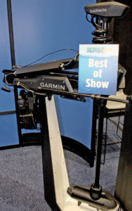 """Only one can claim the """"Best of Show"""" each year. This year it is this new Garmin Force trolling motor."""