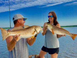 Prime time sight fishing for redfish