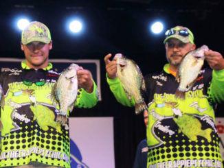 Andre Smith and Tim Hebert placed 7th in the Mr. Crappie Classic in Arkansas on Oct. 4.