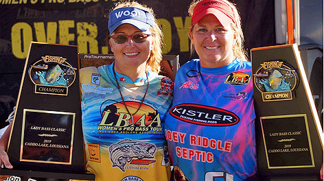 Alisa Johnson and DeAnna Lovvorn won their division of the LBAA Classic and share their technique with Sportsman readers.