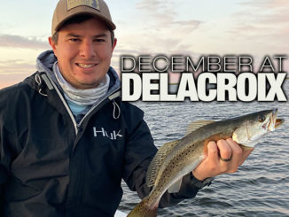 December at Delacroix is still a fishing treat
