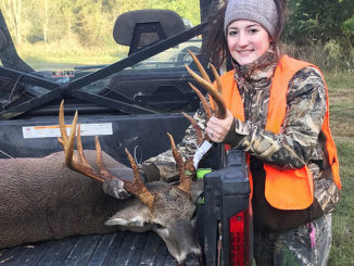 High winds work in Barron's favor in downing big buck