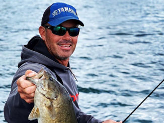 Bass pro sets trap for February bass with Rat-L-Trap
