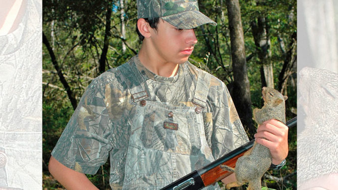 Spring hunting for squirrels gives additional time to take youth into the woods for this popular game animal. (Photo by Chris Berzas)