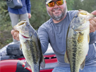 Greg Hackney's tips on catching bass in muddy water