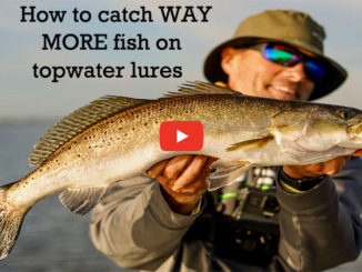 How to catch WAY MORE fish on topwater lures