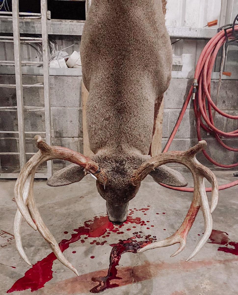 Dylan Cagnina took this 12-point Bienville Parish buck on Dec. 12.