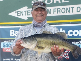 Jeffrey Tall of Jennings landed a 10.81-pound Toledo Bend bass on March 18.