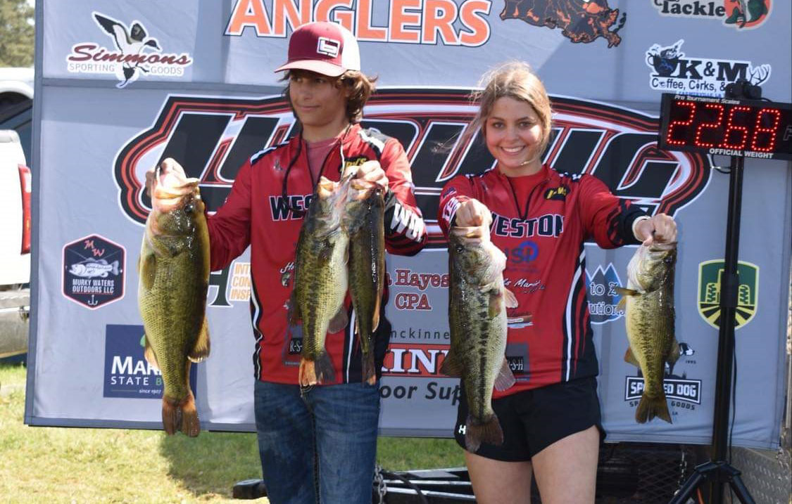 Landin and Taylor Chatham teamed up to win another tournament on Caney Lake, with Landin scoring the biggest bass.
