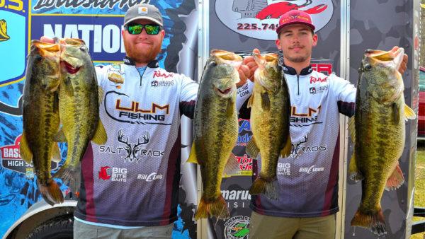 ULM's Nimrod, Andrews reach pinnacle of Louisiana college fishing