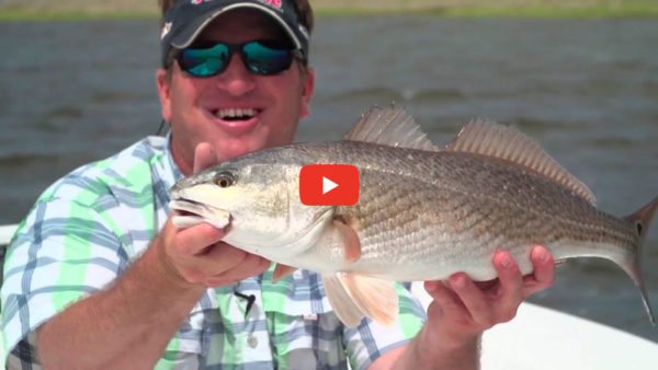 Fishing wind blown pockets to catch more fish
